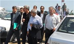 بازدید هیئت بازرسی وزارت کشور از سواحل بابلسر