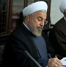 پیام تسلیت رییس جمهوری به مناسبت درگذشت پدر شهیدان یاسینی
