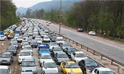 وضعیت جوی و ترافیکی محورهای مواصلاتی