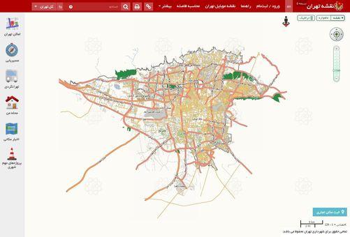 آیا یک پنجم تهران «فضای سبز» است؟! +نقشه