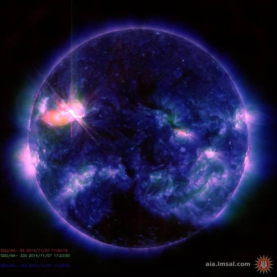 خورشید ارتباطات زمین را مختل کرد