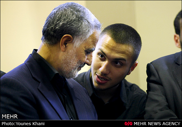 تصاویری از شهید «جهاد مغنیه»در کنار حاج قاسم سلیمانی