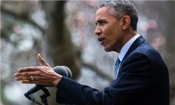 اوباما: با وجود تعامل با ایران، همه گزینهها را روی میز نگه میداریم/ در صورت حمله به اسرائیل، در کنار تلآویو خواهیم بود
