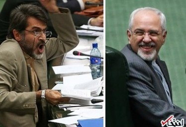 رضایت اکثریت از توضیحات ظریف / فریادهای کوچک زاده و رسایی بر سر وزیر خارجه
