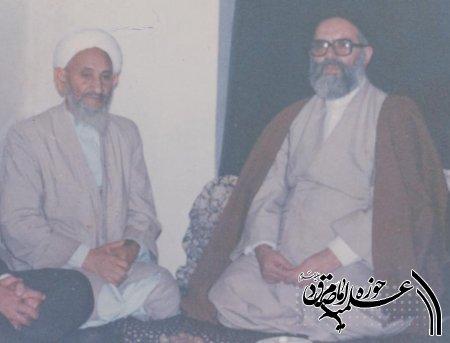 پیام تسلیت بیت مرحوم آیت الله طاهری گرگانی در پی درگذشت حاج آخوند نظری