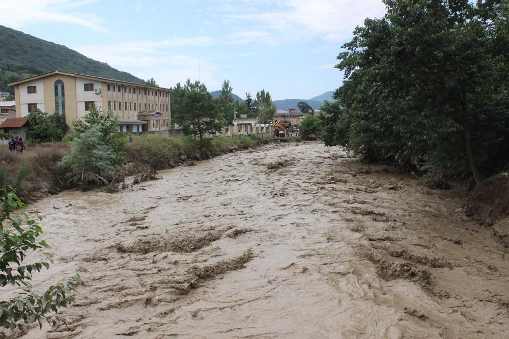 آخرین وضعیت سیل در سوادکوه /تصاویر