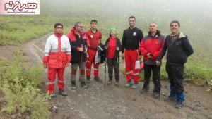 نجات ۱۰ کوهنوردجانباز و ترک  از ارتفاعات دماوند+عکس