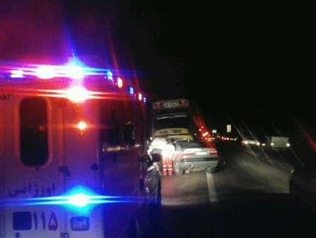 مرگ تمامی سرنشینان زانتیادر تصادف جاده کیاسر+عکس