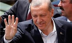 چرت زدن اردوغان در برنامه زنده سوژه رسانهها شد! +عکس