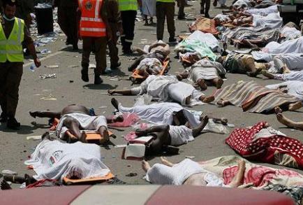 عربستان سعودی خبر آمار قربانیان منا را حذف کرد + تصویر و لینک خبر