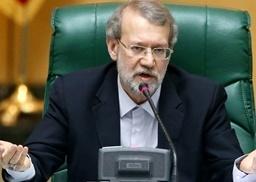 لاریجانی: متاسفم که برخی از خوشحالی مردم در بحث هسته ای ناراحتند