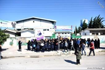 استقبال مازندرانی ها از رئیس جمهور در ساری/تصاویر