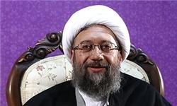 آیتالله صادق آملی لاریجانی ساری را به مقصد تهران ترک کرد