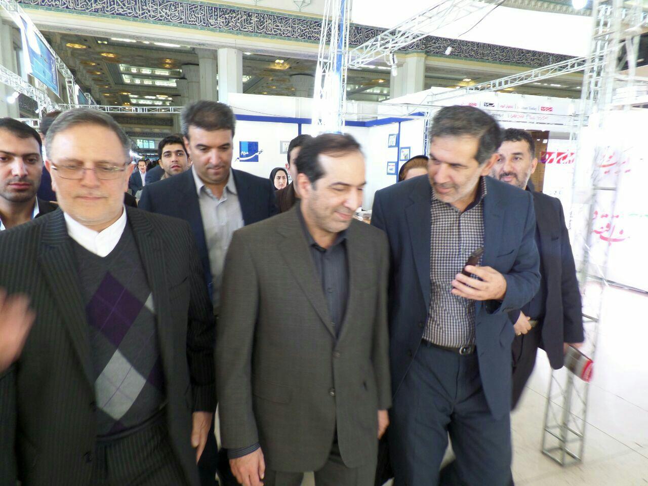اصحاب رسانه مازندران از نمایشگاه مطبوعات و خبرگزاریها بازدید کردند + گزارش تصویری
