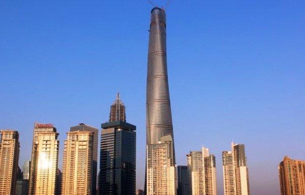 دومین آسمانخراش بزرگ دنیا در چین ساخته شد