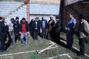 آغاز ساخت مسکن برای سه معلول روستای اروت در ساری