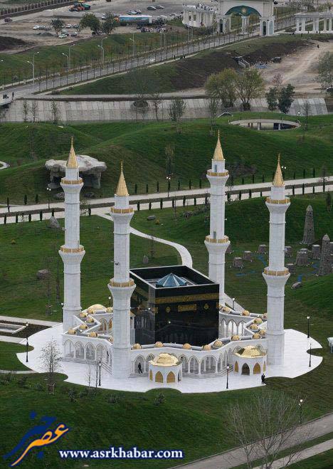 متفاوت ترین مسجد دنیا (عکس)