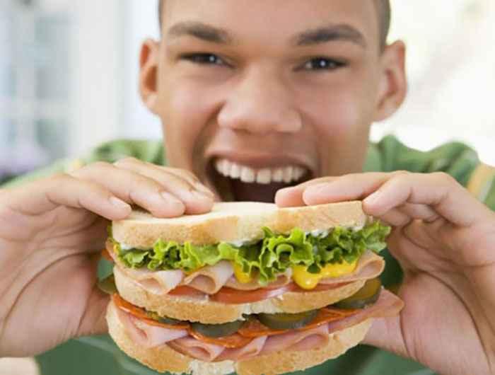 با صدا غذا بخورید و لاغر شوید