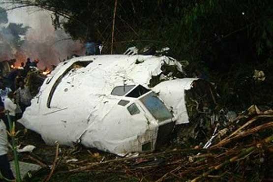 سقوط هواپیمای باری ایران
