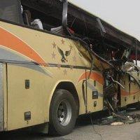 آتشسوزی یک دستگاه اتوبوس در محور هراز