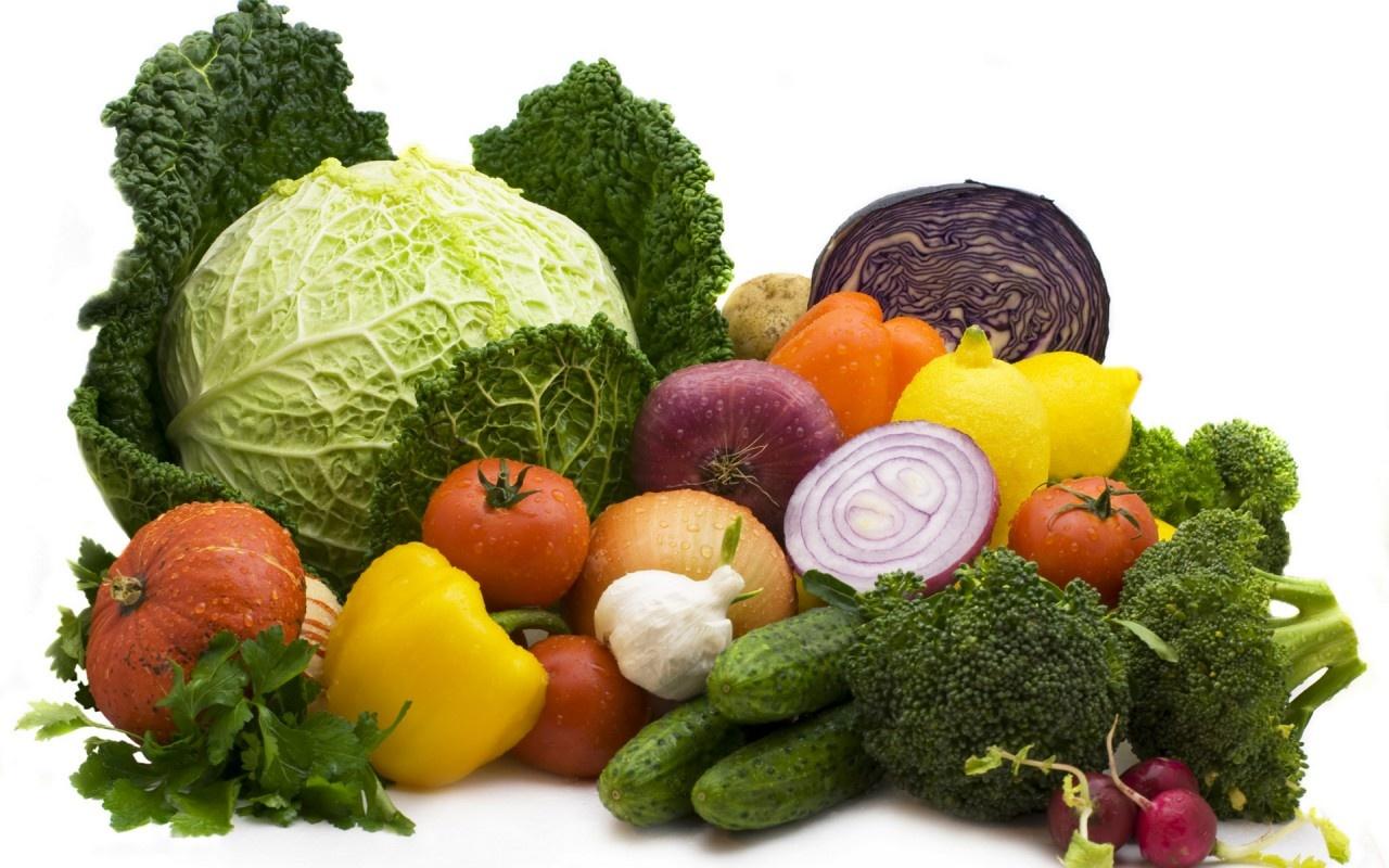 اگزالات در سبزیجات خام