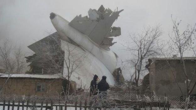آغاز تحقیقات جنایی درباره سقوط بوئینگ ترکیه در قرقیزستان