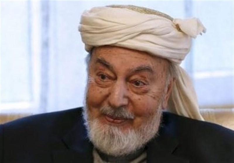 """""""رئیس شورای عالی صلح افغانستان"""" درگذشت"""