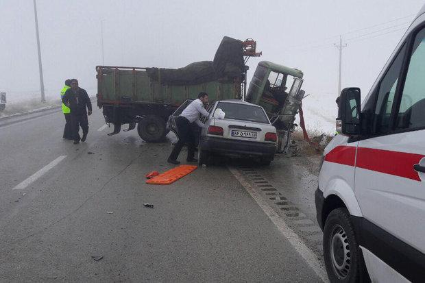۴۱فوتی ناشی از تصادفات رانندگی در دی ماه