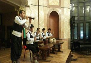 اجرای موسیقی مازندرانی در بلغارستان