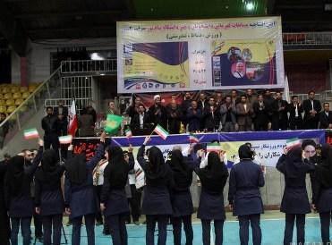 آغاز مسابقات ورزشی دانشجویان دختر دانشگاههای پیام نور کشور در ساری