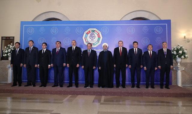 آغاز به کار اجلاس سران کشورهای عضو سازمان اکو در اسلامآباد