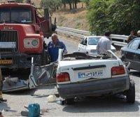 ۷۵۶ تن در تصادفات نوروز ۹۵ در جاده های کشور جان باختند