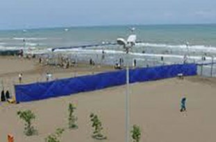 تعطیلی طرح ساماندهی ساحل  و دریای خزر در دو شهرستان بهشهر و نوشهر