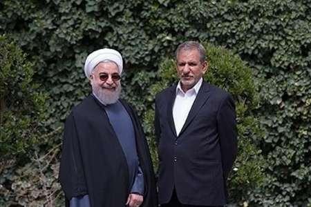 اسحاق جهانگیری به نفع حسن روحانی از نامزدی ریاست جمهوری کناره گیری کرد