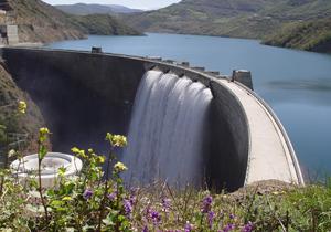 سرریز آب در ۲ سد مازندران