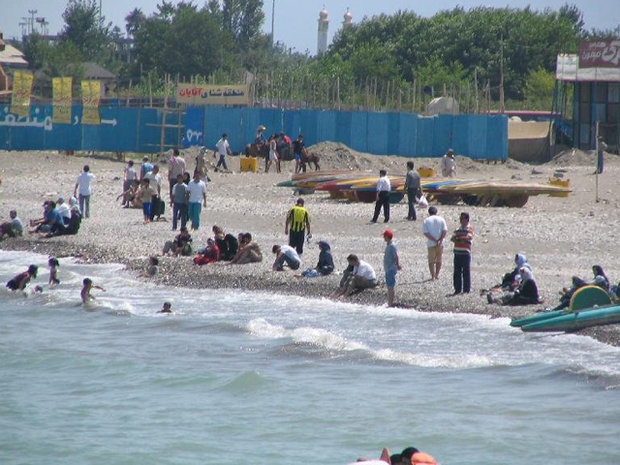 شنا کردن در دریای مازندران طی روزهای پایانی هفته جاری ممنوع است