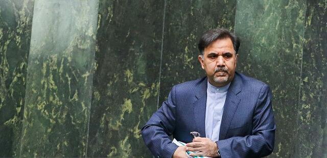 اصلاح آرای آخوندی/آرای موافق وزیر راه افزایش یافت