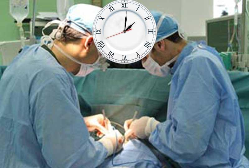 بیماران غیر اورژانس در مازندران در ساعت اداری برای جراحی بیهوش می شوند