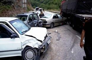 ۳ کشته و ۳ زخمی در تصادف پراید و کامیون در جاده هراز