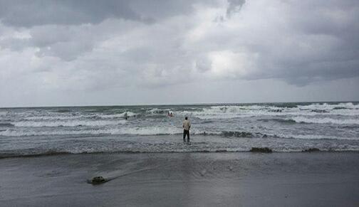 دریای محمودآباد جوان نیشابوری را بلعید