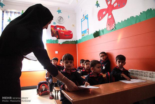۸۰۴ دبستان در مازندران چندپایه است