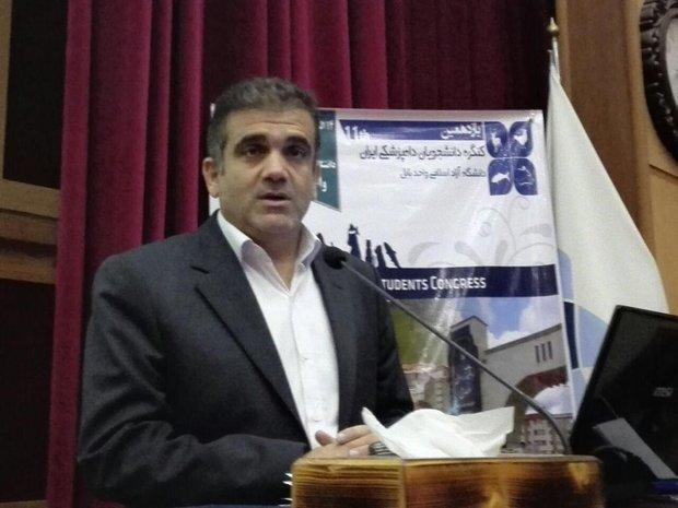 آغاز یازدهمین کنگره دانشجویان دامپزشکی ایران در بابل