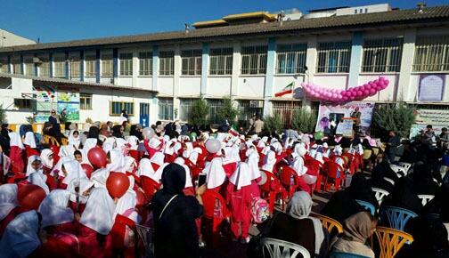 برگزاری جشن شکوفه ها  در مدارس مازندران
