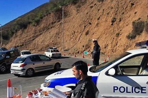 ۲۲ هزار تخلف رانندگی در مازندران اعمال قانون شد