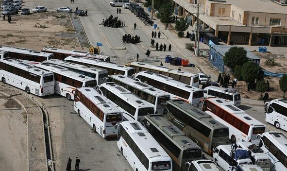 ۲۶ هزار زائر اربعین مازندرانی با اتوبوس به مهران اعزام شدند