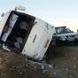 تصادف اتوبوس با ۱۰ خودرو در هراز/ اعزام ۹ مصدوم به تهران با بالگرد