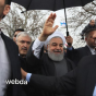 عکس/حضور وزیر بهداشت همراه با رئیس جمهور در راهپیمایی ۲۲ بهمن