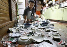 تصاویر : زلزله ۶.۸ ریشتری در شمال شرق ژاپن