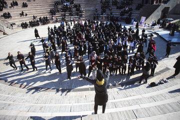 پویش ملی ارتقا نشاط و سلامت زنان با ورزش ویژه بانوان شاغل در دستگاههای اجرایی مازندران