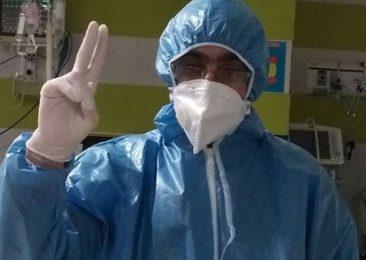 کمک بهیار بیمارستان امام خمینی (ره) ساری به جمع شهدای سلامت پیوست
